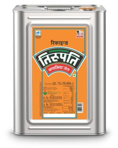 Tirupati - Refined Cottonseed Oil 15 Kg tin