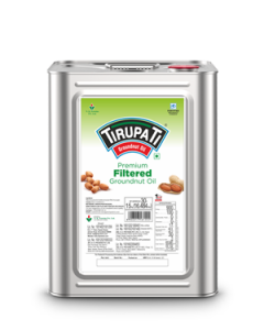 Tirupati Premium Groundnut Oil 15 Kg tin