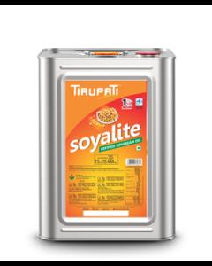 Tirupati Soyalite - Refined Soyabean Oil 15 Kg tin