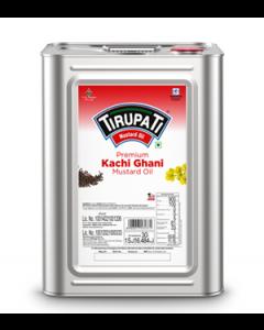 Tirupati Kachi Ghani - Mustard Oil15kg