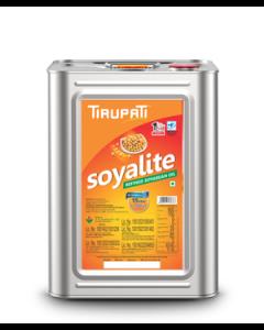 Tirupati Soyalite - Refined Soyabean Oil 15 Ltr tin