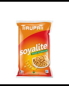 Tirupati Soyalite Soyabeen Oil 1 Ltr Pouch