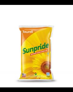 Tirupati Sunpride - Refined Sunflower Oil 1 Ltr Pouch