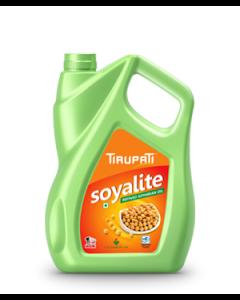 Tirupati Soyalite - Refined Soyabean Oil 5 Ltr Jar