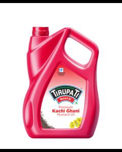 Tirupati Kachi Ghani - Mustard Oil 5 ltr