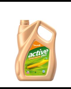 Tirupati Active Plus - Refined Corn Oil 5 Ltr Jar