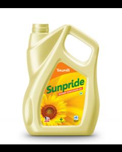 Tirupati Sunpride - Refined Sunflower Oil 5 Ltr Jar