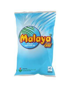 Malaya Gold - Refined Palmolein Oil 1 Ltr Pouch