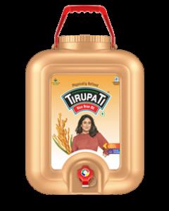 Tirupati Rice Bran Oil 15 Ltr Ch Jar