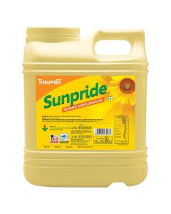 Tirupati Sunpride - Refined Sunflower Oil 15 Ltr Jar